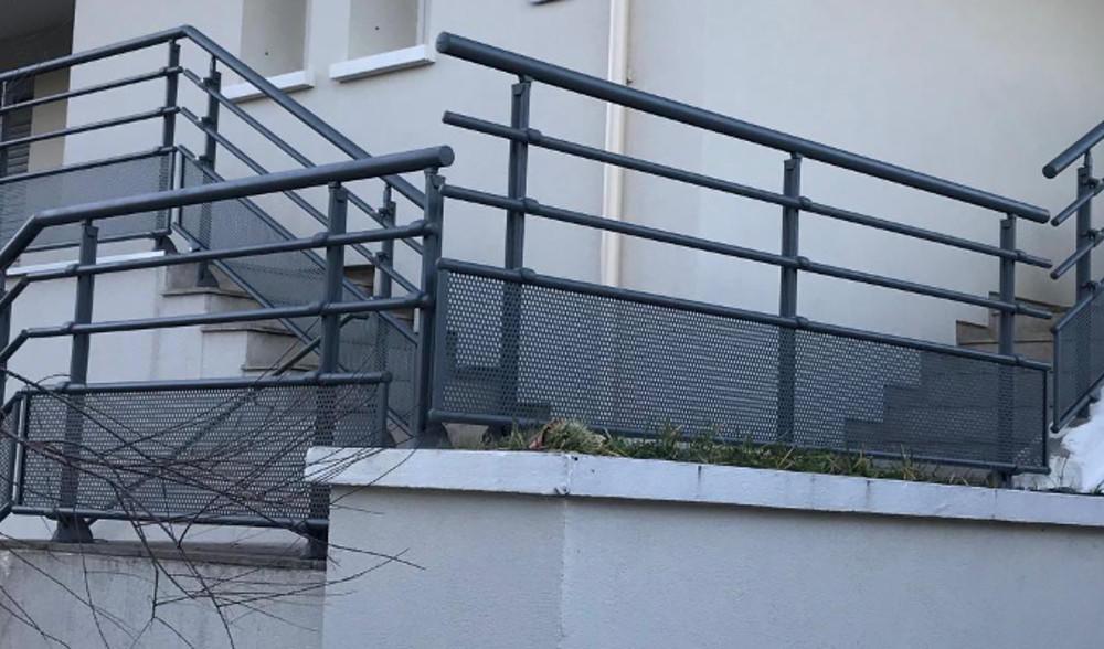 Garde-corps aluminium pour villa barriere de protection ...