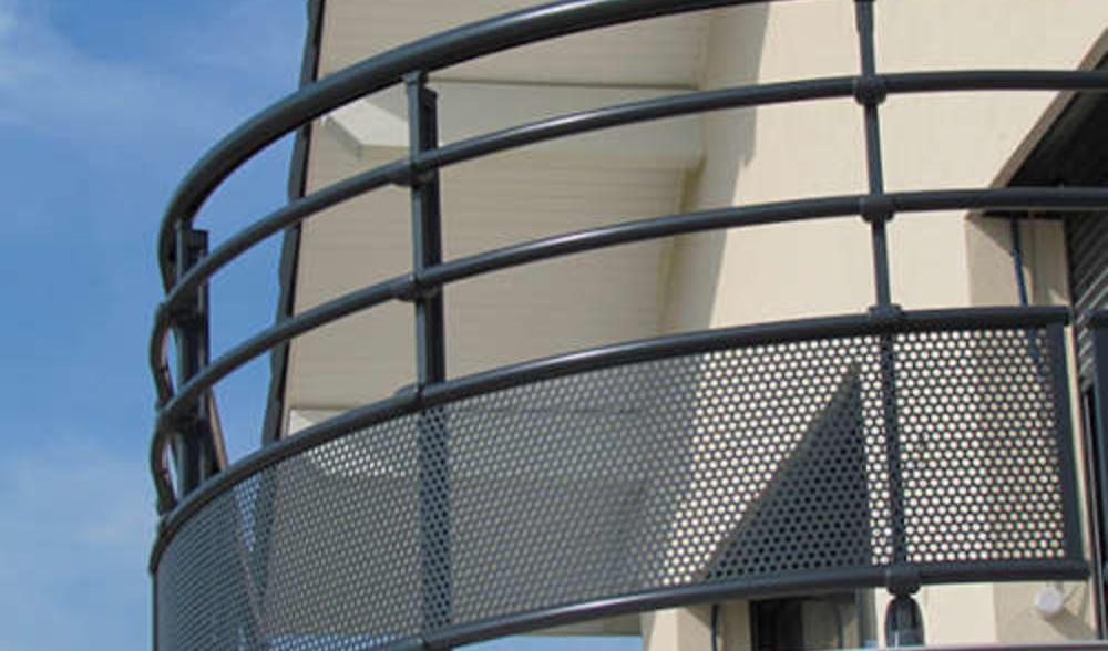 Garde Corps Aluminium Pour Villa Barriere De Protection