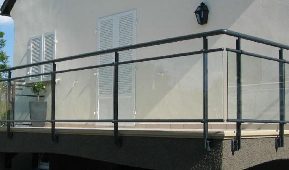Garde Corps Aluminium Pour Villa Barriere De Protection Terrasses